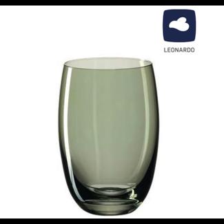 LEONARDO Leonardo Trinkglas Lucente grün,  6er Set