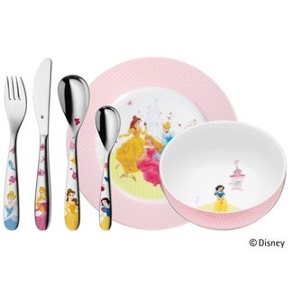 WMF WMF Kinderbesteckset Disney Princess 6-teilig