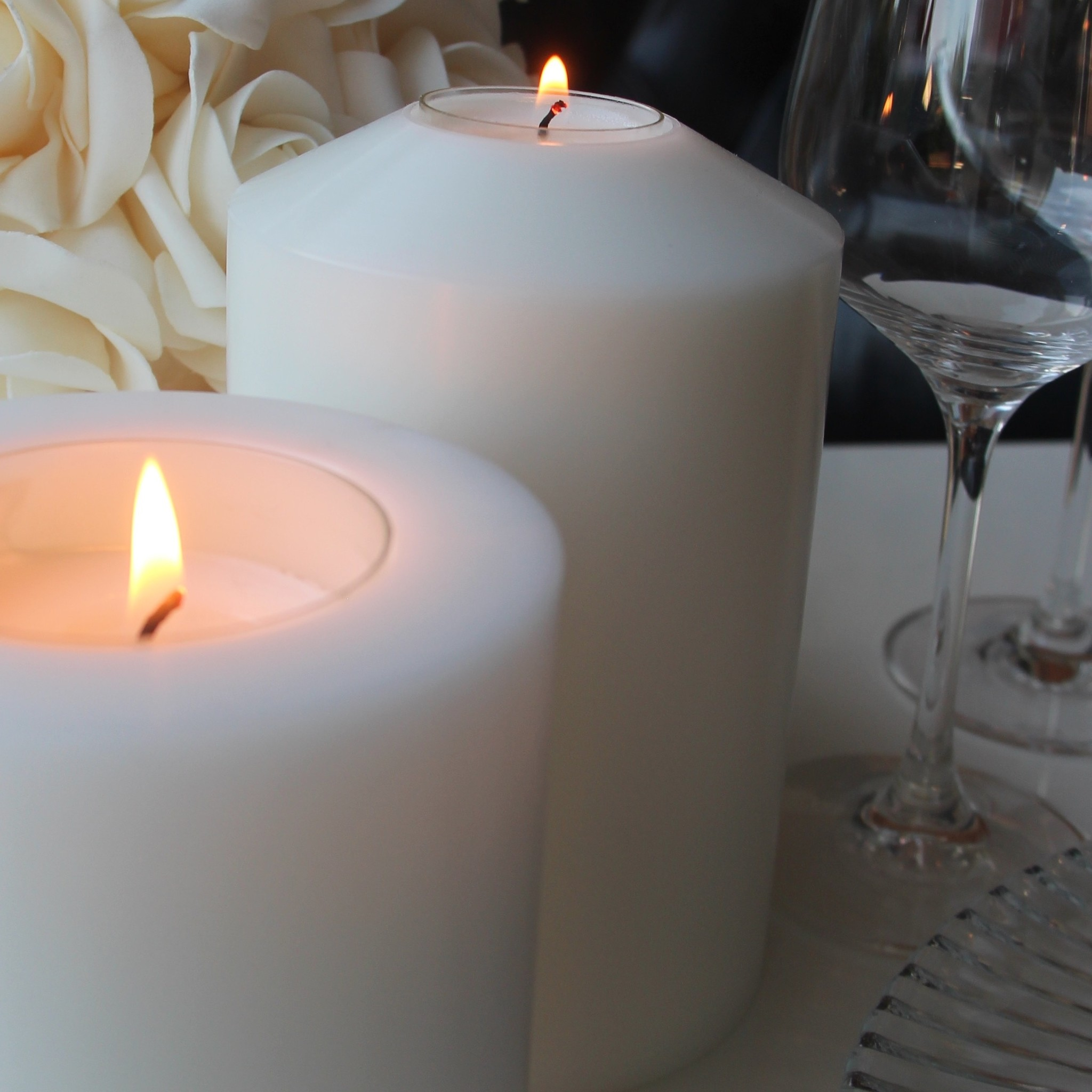 ALLURE Teelichthalter Kerze