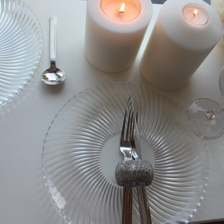 Allure Swiss Design ALLURE Teelichthalter, Dauerkerze Classic Lunaris