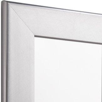 Moderna  Silber Echtholz Wandspiegel