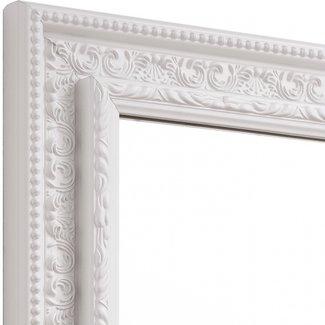 Spiegel BAROCK  in Weiss aus Echtholtz  200x115cm