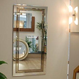 Cleo Moderne Designer Wandspiegel AMBIENTE Palermo