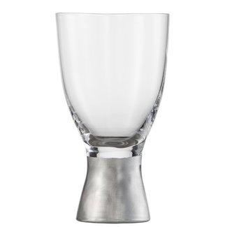 Eisch Glas EISCH Wasserglas PURO Silber MATT