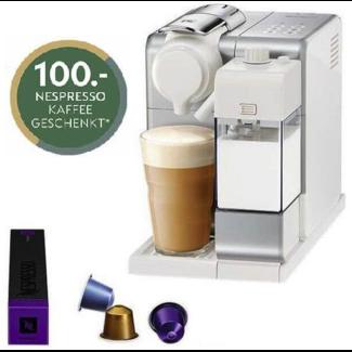 SAGE NESPRESSO De'Longhi Nespressomaschine Lattissima Touch EN560 Silber