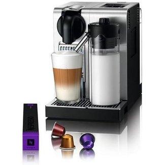SAGE NESPRESSO De'Longhi Nespressomaschine Lattissima Pro EN 750.MB Silber