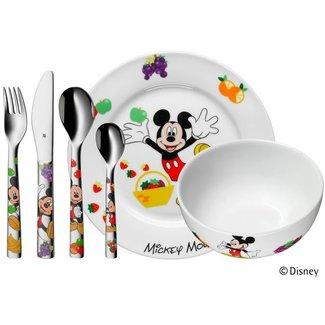 WMF Kinderbesteck-Set 6-teilig Mickey Mouse