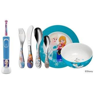 WMF Oral-B Rotationszahnbürste Disney Frozen inkl. WMF Besteckset