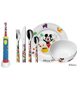 WMF Oral-B Rotationszahnbürste Disney Micky Mouse inkl. WMF Besteckset