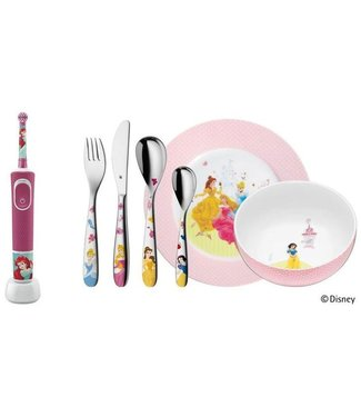 WMF Oral-B Rotationszahnbürste Disney Princess inkl. WMF Besteckset