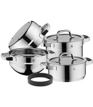 WMF WMF Compact Cuisine Topf-Set, 4-teilig, stapelbar