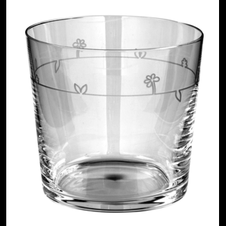 FINK-LIVING Fink-Living VIOLA Trinkglas klar m. Schliff