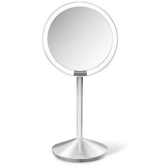 SIMPLEHUMAN Kosmetikspiegel mit Sensor, 10-fache vergrösserung