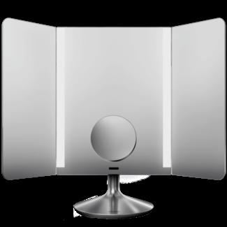 Simplehuman Kosmetikspiegel mit Sensor Silber