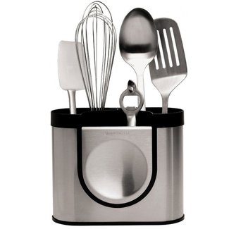SIMPLEHUMAN Simplehuman Küchenutensilienhalter Silber Schwarz
