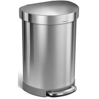 SIMPLEHUMAN Simplehuman Treteimer CW2029 60 Liter, Silber