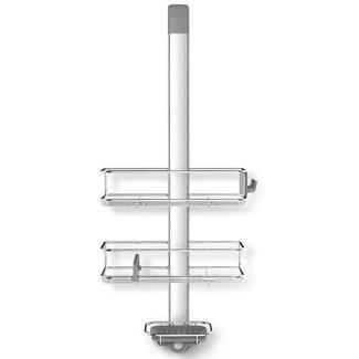 SIMPLEHUMAN Simplehuman Bad-Utensilienhalter Tür-Duschcaddy Silber