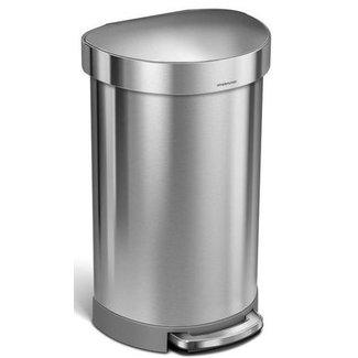 SIMPLEHUMAN Simplehuman Treteimer CW2030 45 Liter, Silber
