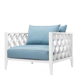 EICHHOLTZ Eichholtz OCEAN CLUB Luxus  Sessel mit 2 Kissen