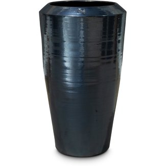 FLEUR-AMI Fleur ami PADU Pflanzgefäß, 43/70 cm, platin black