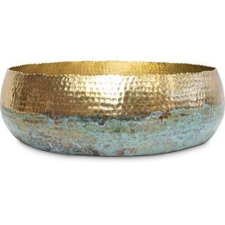 FLEUR-AMI Fleur ami HOOP MYSTIC Schale, 52/14 cm, gold/patina