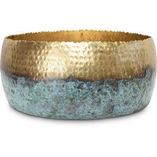FLEUR-AMI Fleur ami HOOP MYSTIC Schale, 31/13 cm, gold/patina
