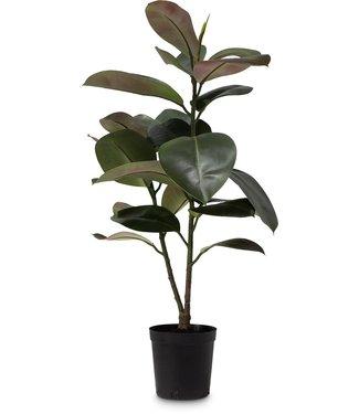 Fleur ami FICUS ELASTICA Kunstpflanze, 95 cm