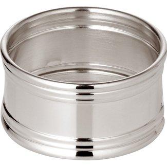 Edzard Edzard Serviettenring Inglese, rund, Durchmesser 4,5 cm, Echtsilber 925/000, Silbergewicht 26 Gramm