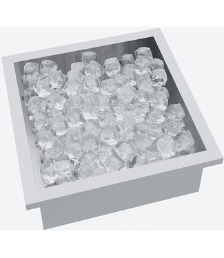 """Ap Design Edelstahl Behälter für """"Eiskübel, Champagner, Wein & Getränke"""" zu Design Grilltisch """"a la carte"""""""