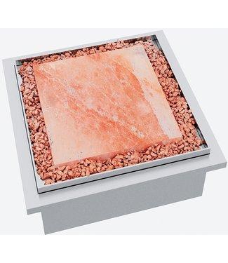 """Ap Design Einsatz Holz / Kohle """"Himalaya Salzstein"""" Design Grilltisch """"a la carte"""""""