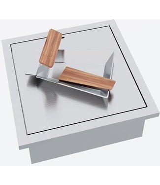 """Ap Design Einsatz Holz / Kohle """"Raclette"""" zu Design Grilltisch """"a la carte"""""""