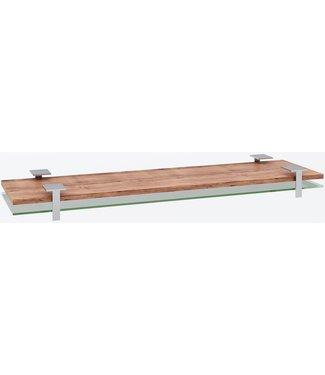 """Ap Design Unterbau für """"4er Tisch"""" Tischabdeckung und Ablagefach zu Design Grilltisch """"a la carte, Klarglas"""