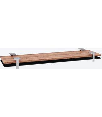 """Ap Design Unterbau für """"4er Tisch"""" Tischabdeckung und Ablagefach zu Design Grilltisch """"a la carte, schwarzes glas"""