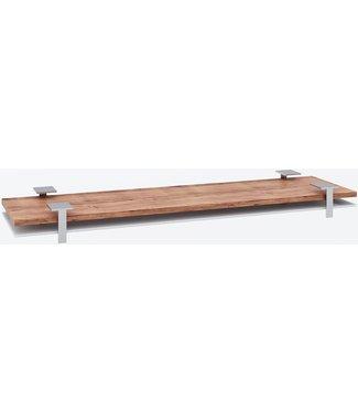 """Ap Design Unterbau für """"8er Tisch"""" Tischabdeckung und Ablagefach zu Design Grilltisch """"a la carte"""", weisses glas"""