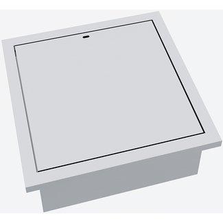 """AP Design Metall Luzern Einsatz Holz / Kohle """"Teppanyaki"""" Design Grilltisch """"a la carte"""""""