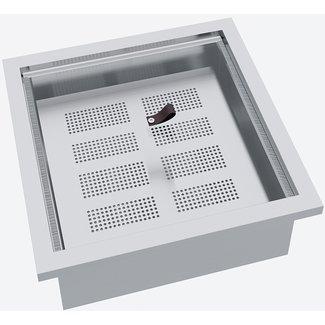 """AP Design Metall Luzern Einsatz """"Steamer Elektrisch"""" zu Design Grill Tisch """"a la carte"""""""