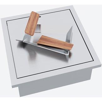 """AP Design Metall Luzern Einsatz """"Raclette"""" für Elektrobetrieb Design Grilltisch """"a la carte"""""""