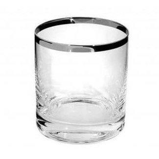 FINK-LIVING FINK-LIVING PLATINUM Wasserglas - Whiskyglas