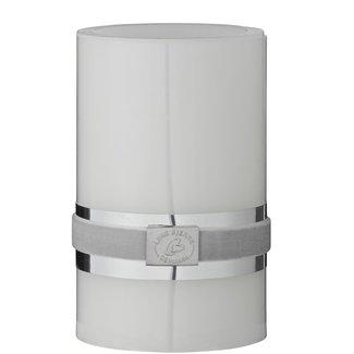 Lene Bjerre LED PILLAR CANDLE WHITE 12 CM.