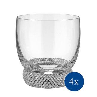 Villeroy & Boch Villeroy & Boch Octavie Whiskyglas, 4 Stück