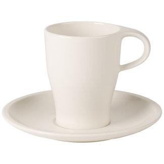 Villeroy & Boch ! Villeroy & Boch  Coffee Passion Kaffeebecher mit Untertasse
