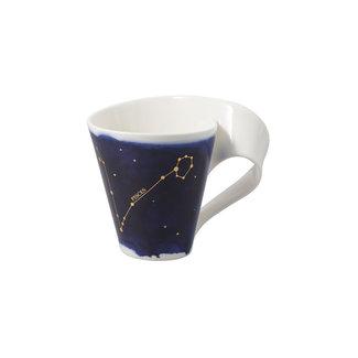 Villeroy & Boch Villeroy & Boch NewWave Stars Becher Fische, 300 ml, Blau/Weiss