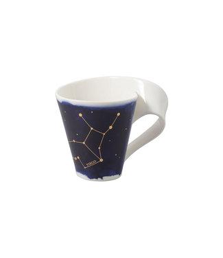 Villeroy & Boch  Villeroy & Boch NewWave Stars Becher Jungfrau, 300 ml, Blau/Weiss