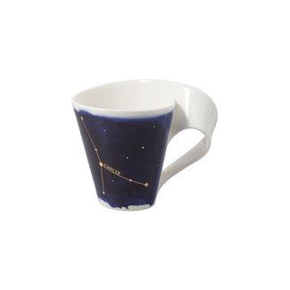 Villeroy & Boch Villeroy & Boch NewWave Stars Becher Krebs, 300 ml, Blau/Weiss