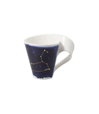 Villeroy & Boch  Villeroy & Boch NewWave Stars Becher Löwe, 300 ml, Blau/Weiss