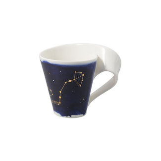 Villeroy & Boch Villeroy & Boch NewWave Stars Becher Skorpion, 300 ml, Blau/Weiss