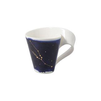 Villeroy & Boch Villeroy & Boch NewWave Stars Becher Stier, 300 ml, Blau/Weiss