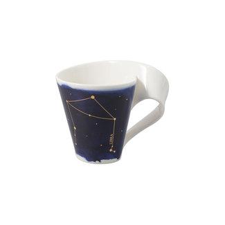 Villeroy & Boch Villeroy & Boch NewWave Stars Becher Waage, 300 ml, Blau/Weiss