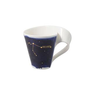 Villeroy & Boch Villeroy & Boch NewWave Stars Becher Wassermann, 300 ml, Blau/Weiss