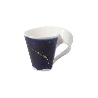 Villeroy & Boch Villeroy & Boch NewWave Stars Becher Widder, 300 ml, Blau/Weiss